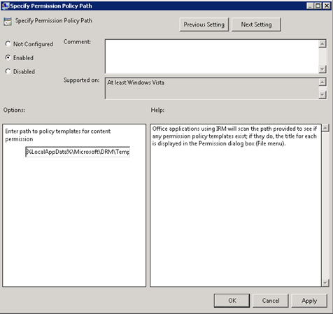 Specifiy_Permissons_Policy_Path_Dialog_box